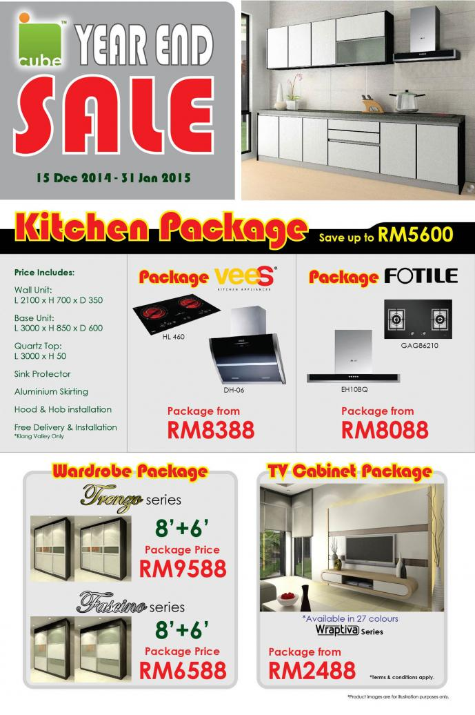 Kitchen cabinets malaysia promotions images for Harga kitchen cabinet 2016