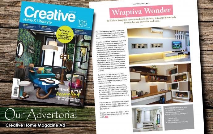 Kitchen Cabinets Ideas kitchen cabinet magazine : Creative Home Magazine Advertorial | Custom Made Furniture in ...