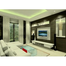 Living room divider living room furniture customize for Teng yong interior design decoration