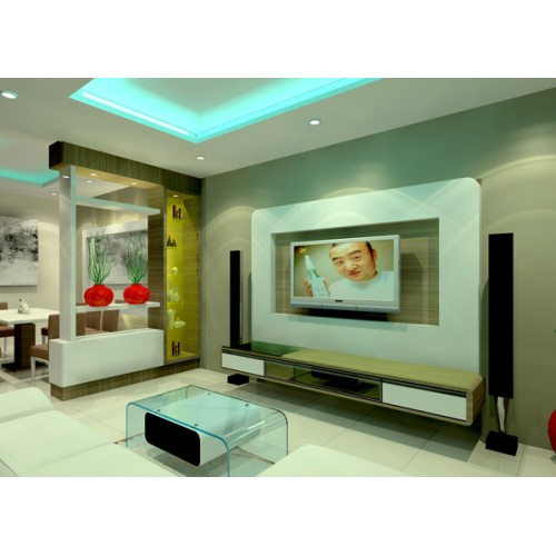 Living room divider british modern living dining room for Affordable furniture malaysia