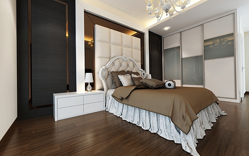 Malaysia Custom Bedroom Furniture Bedroom Wardrobe Designer